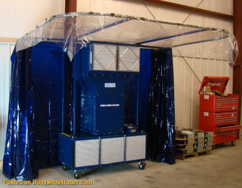 Mobile Weld Station Portable Welding Booth Welding