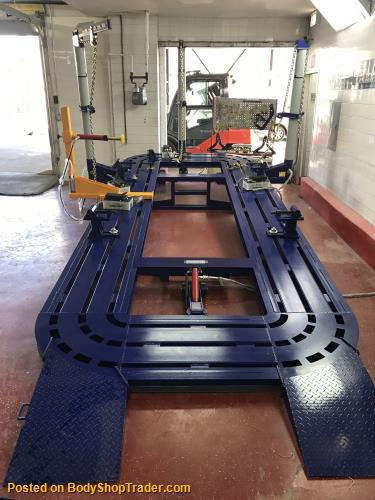 18 AUTO BODY FRAME MACHINE INCLUDING EVERYTHING IN PICS CLAMPS TOOL ...