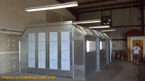 how to build a cross flow paint booth