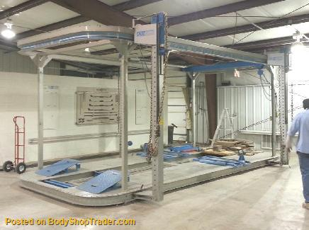 rack 360 frame machine